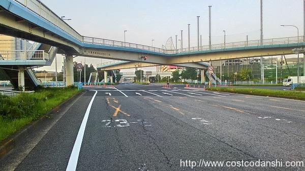免許センター交差点の写真