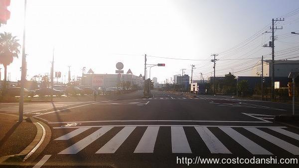 カレスト幕張交差点の写真