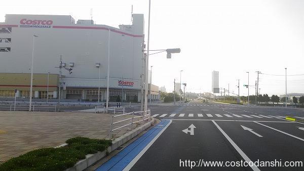 コストコ幕張店交差点の写真