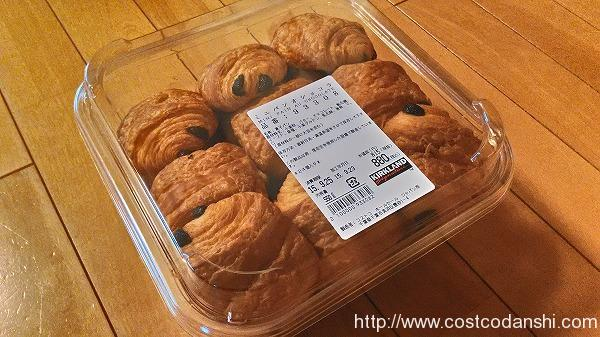 ミニパンオショコラのパッケージの写真