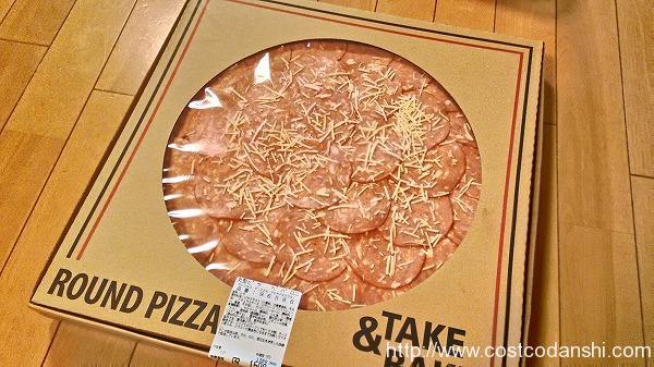 コストコのペパロニピザの写真