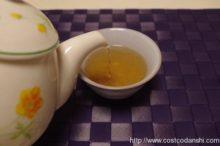コストコ黒茶烏龍茶を淹れているところ