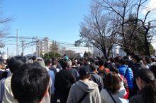 コストコ岐阜羽島店に並ぶ行列のイメージ